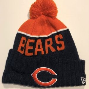 Unisex New Era Chicago Bears Pom Hat NWOT